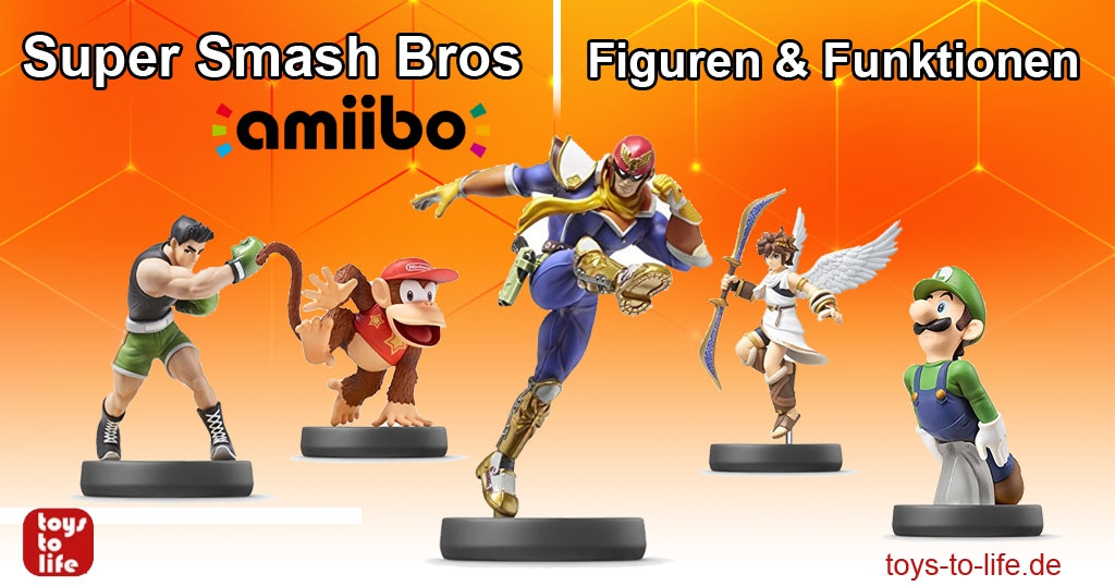 Super Smash Bros Amiibos: Figuren & Funktionen