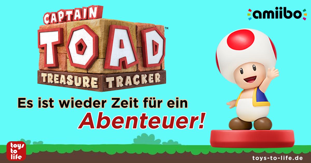 Captain Toad Treasure Tracker Amiibo