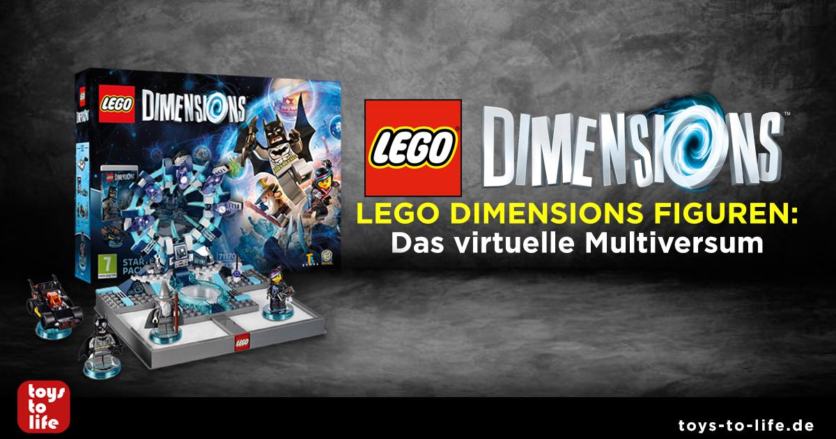 Lego Dimensions Figuren