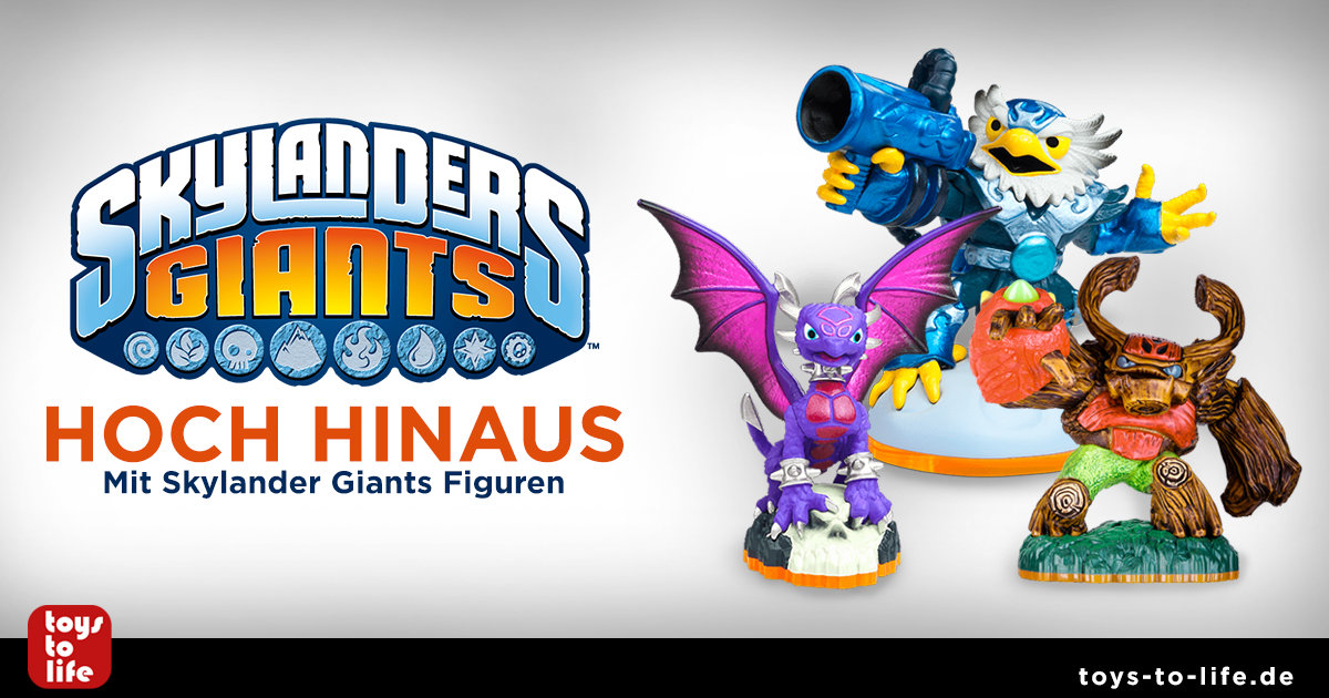 Skylander Giants Figuren