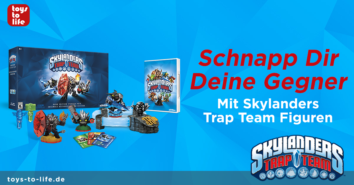 Skylanders Trap Team Figuren
