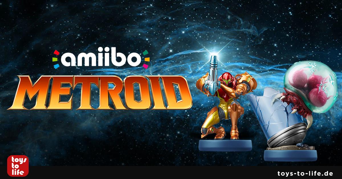 Metroid Amiibo