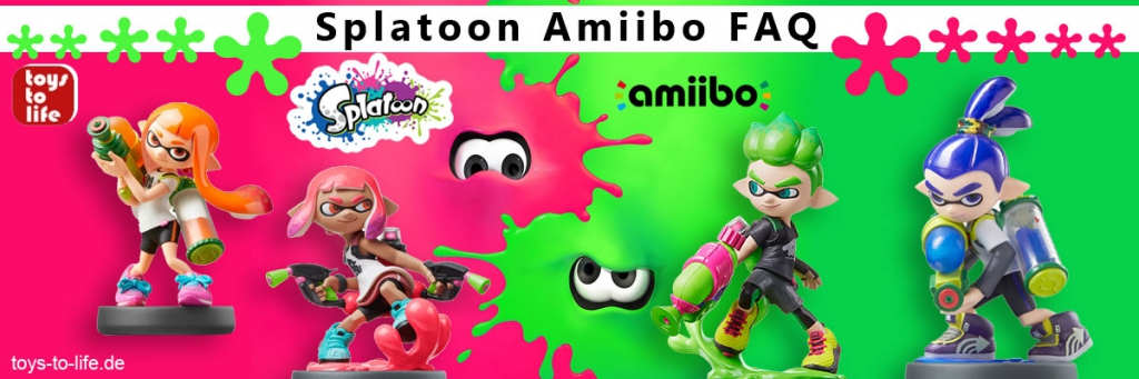 Splatoon Amiibo FAQ