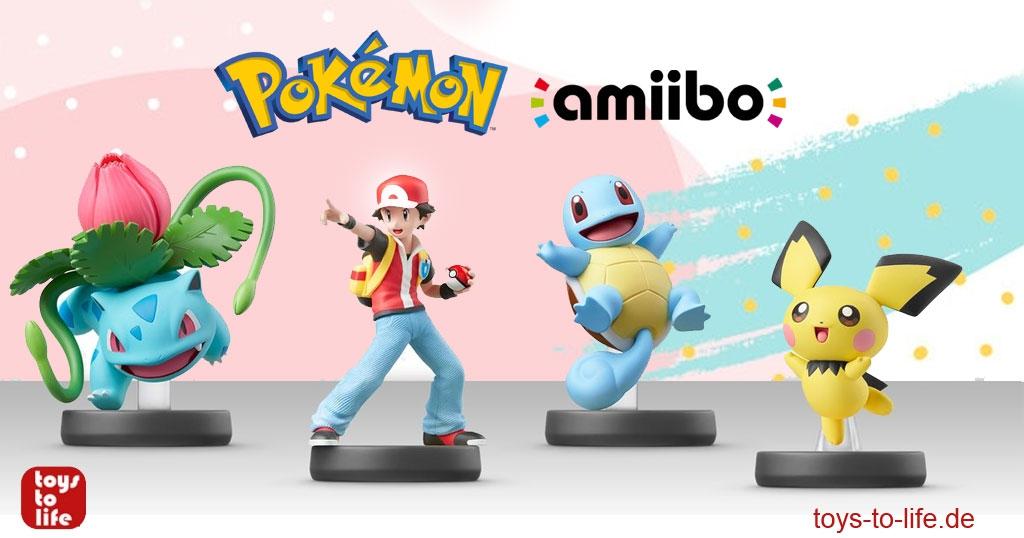 Pokémon Amiibos